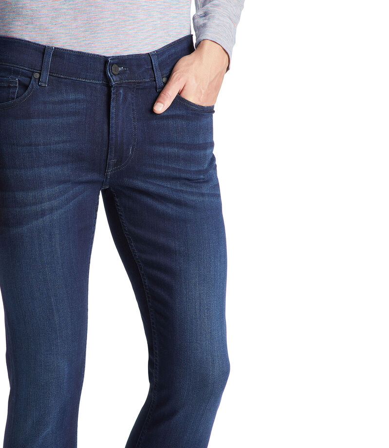 7 For All Mankind Jeans Ronnie Skinny Tapered Hombre, AZUL, editorial
