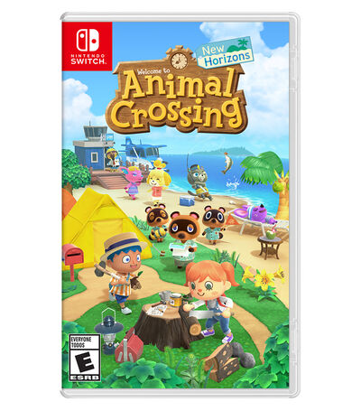 Welcome to Animal Crossing. New Horizons Nintendo Switch, , large