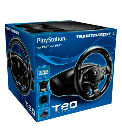 Racing Wheel PS3/PS4 T80, , large