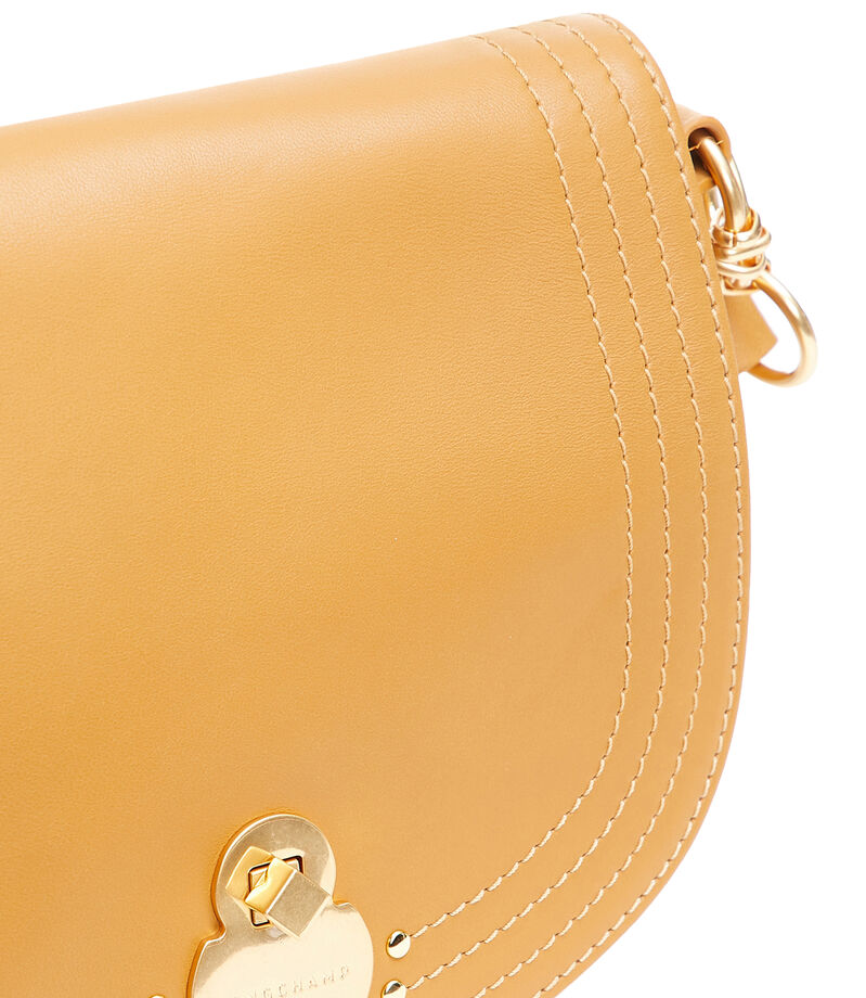 Bolso crossbody de piel, , editorial