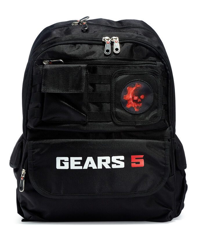 Mochila Escolar Gears of War Niño, , large