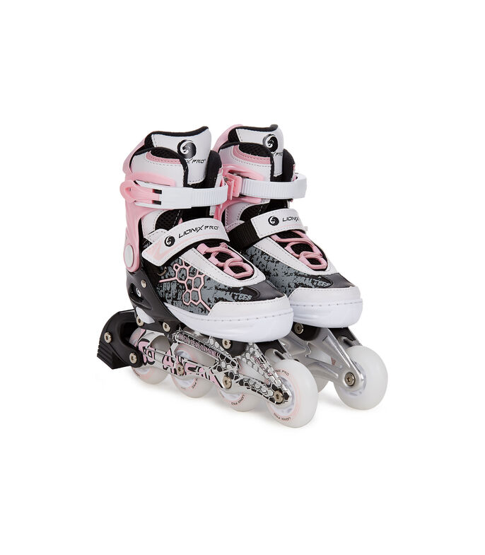 Lionix Pro - Patines 3 en 1 con luz LED, talla ajustable, , large