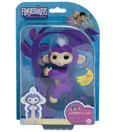 Fingerlings Interactive Baby Monkey Mia, , large