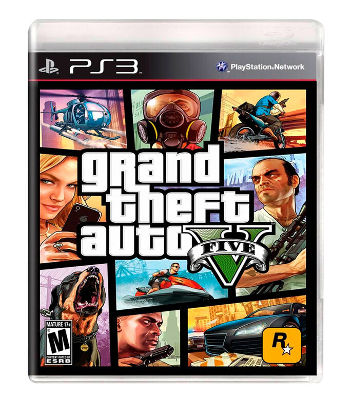 Grand Theft Auto V PS3, , large