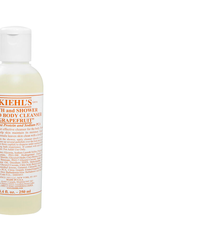 Kiehl's Bath and Shower Liquid Body Cleanser Grapefruit, , editorial
