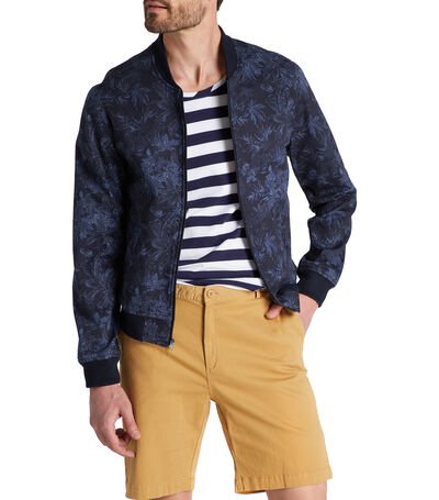 Chamarra Bomber Hombre, , large