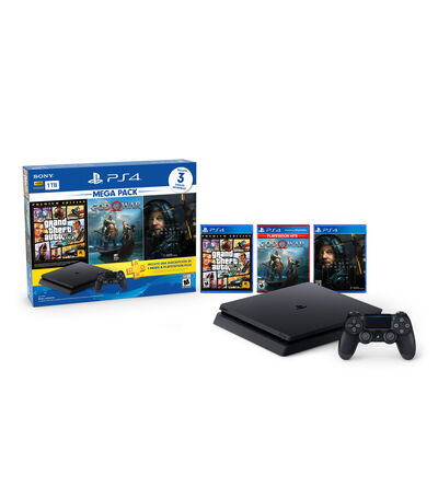 Consola PS4 Slim 1 TB + 3 Hits, , large