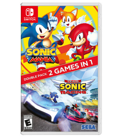 Sonic Mania + Team Sonic Racing Nintendo Switch, , large