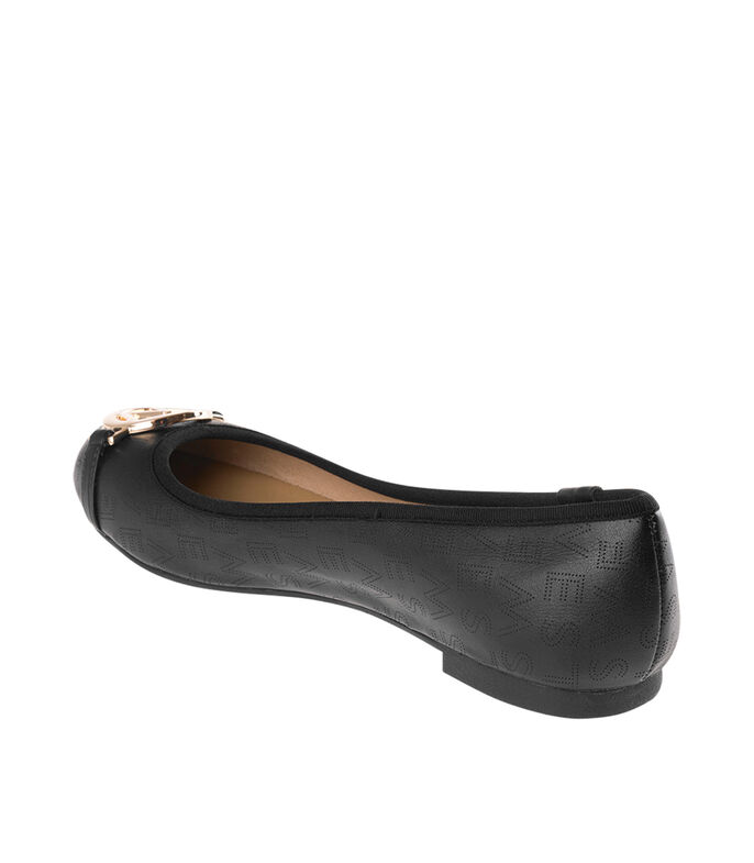 Westies Flats con logotipo Mujer, NEGRO, large