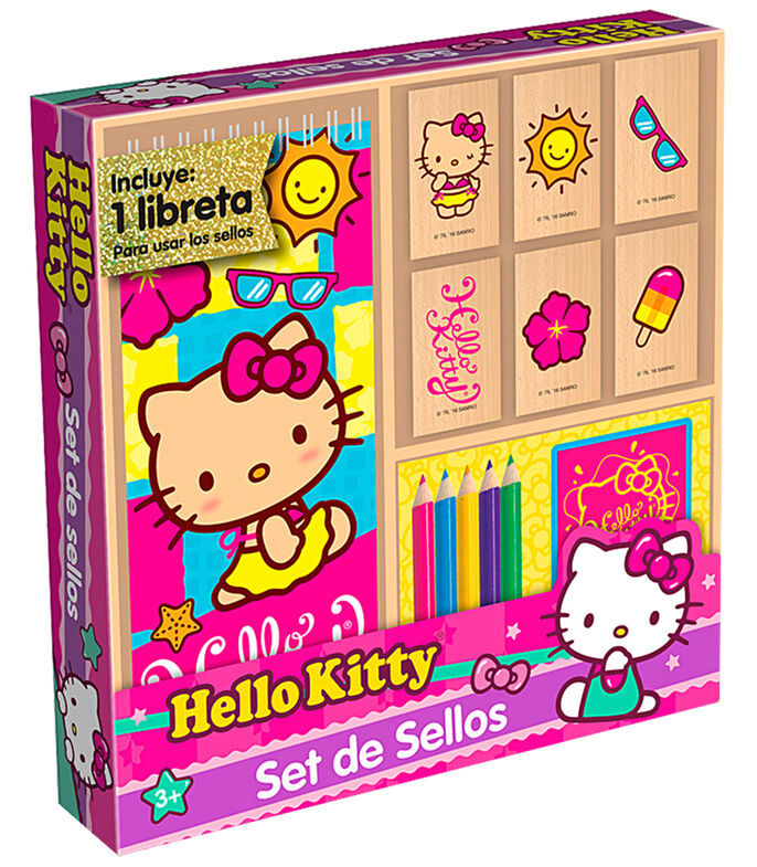 Set de Sellos Hello Kitty, , large