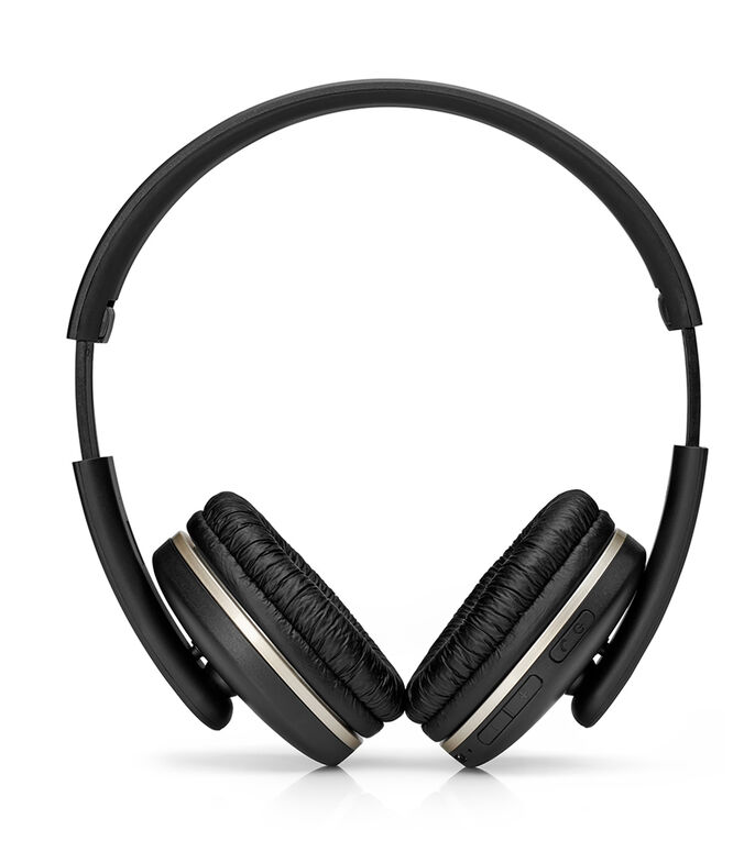 Audífonos Inalámbricos Bluetooth 400 Negro, , large