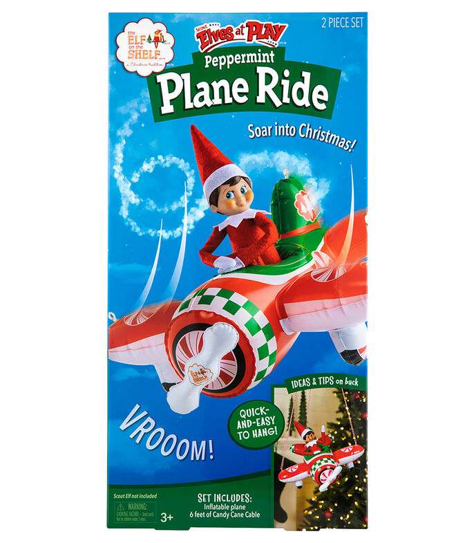Elf on the Shelf Peppermint Plane Ride, , large