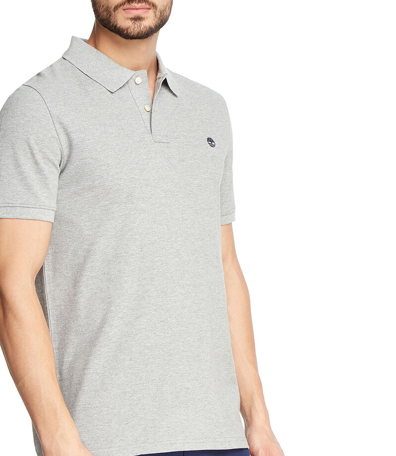 Playera polo Hombre, GRIS, editorial