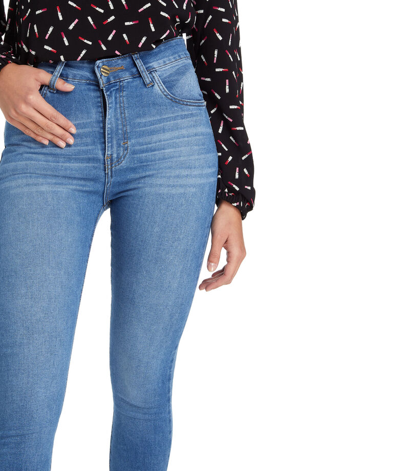 Wild & Alive Jeans Skinny Mujer, AZUL, editorial