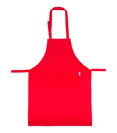 Delantal rojo, , large