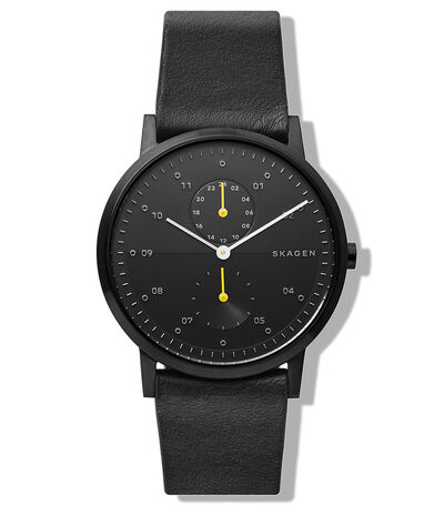 Reloj Kristoffer Leather Hombre, , large