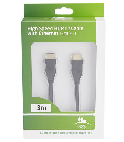 Cable HDMI High Speed 3 m, , large