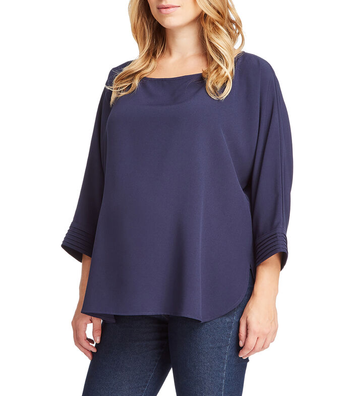 Expecting Essentials Blusa manga 3/4 Mujer, , large