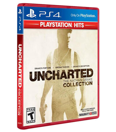 Uncharted: The Nathan Drake Collection Hits PS4, , large