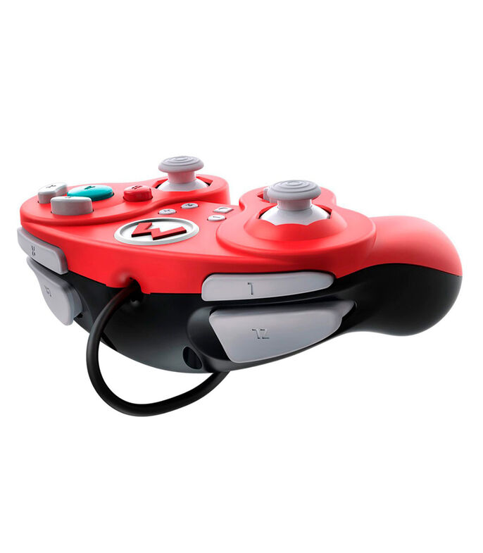 Control Alámbrico Nintendo Switch, Wired Fight Pad Pro Super Mario, , large