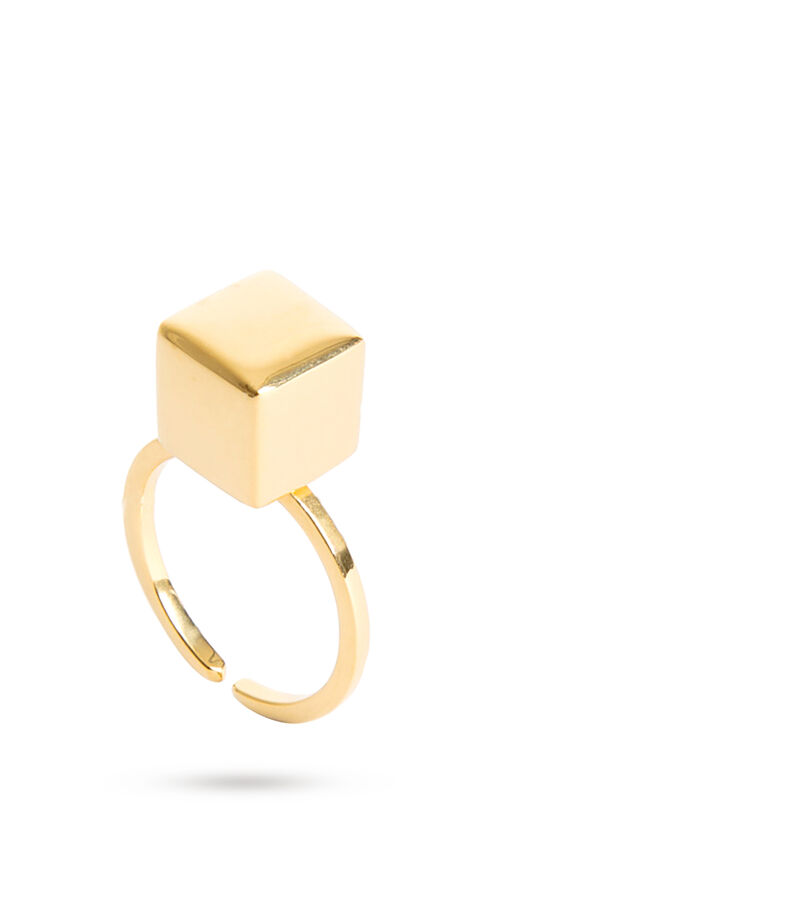 Anillo ajustable Mexican Geometry Mini Mujer, , editorial