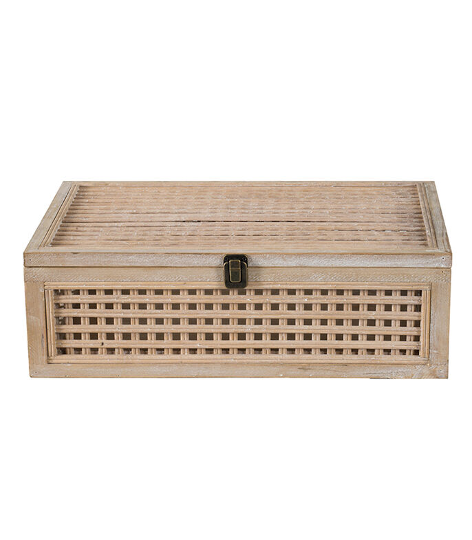 Caja Decorativa en Bambú, , large
