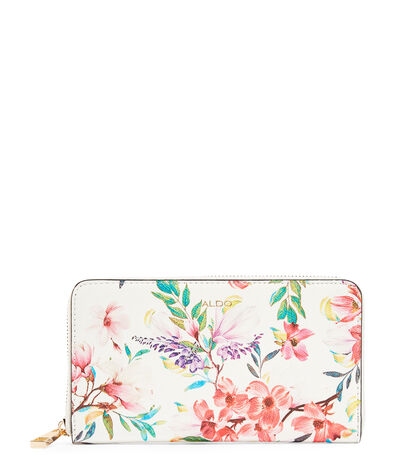 Cartera con flores Mujer, , large