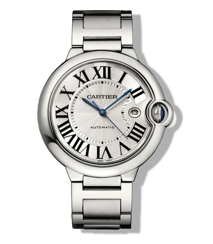 Reloj Ballon Bleu de Cartier 42 MM, Acero, , large