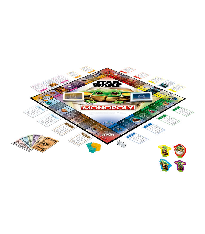 Juego de mesa Monopoly: Star Wars The Child - The Mandalorian, , large