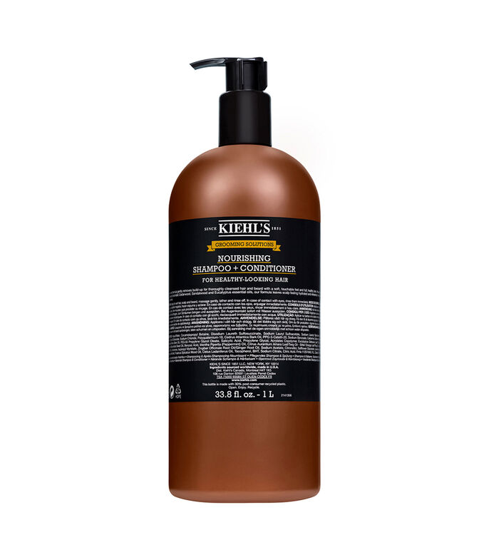 Kiehl's Grooming Solutions Nourishing Shampoo + Conditioner, , large