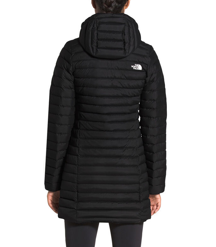 The North Face Chamarra Stretch Down Mujer, NEGRO, large