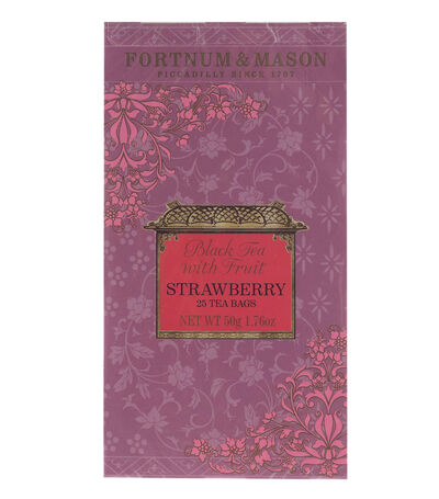 Black Tea with Strawberry 50 g, , large