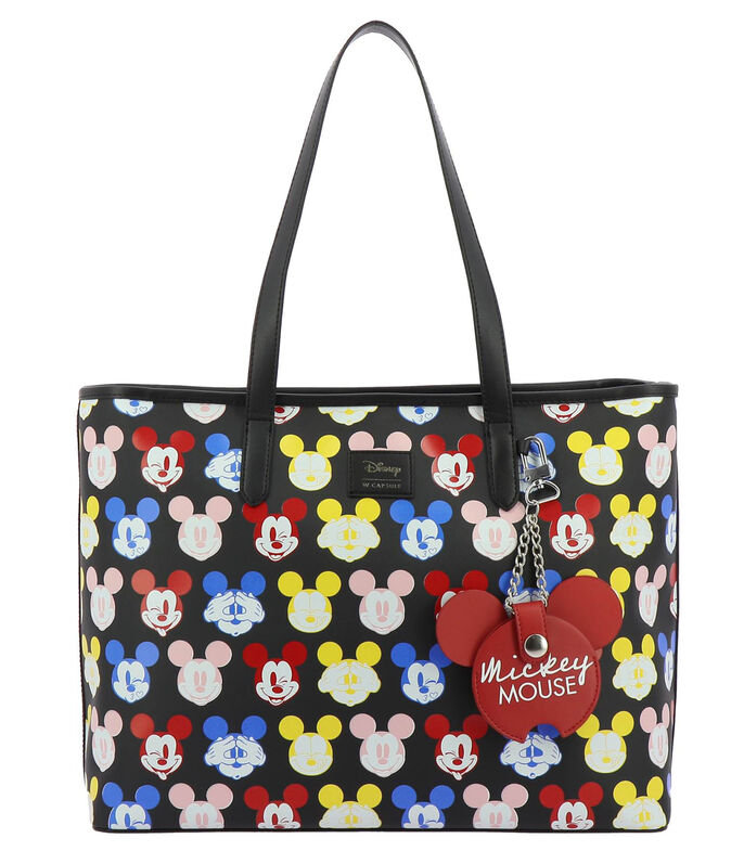 Bolso tote Mickey Mouse, MULTICOLOR, large