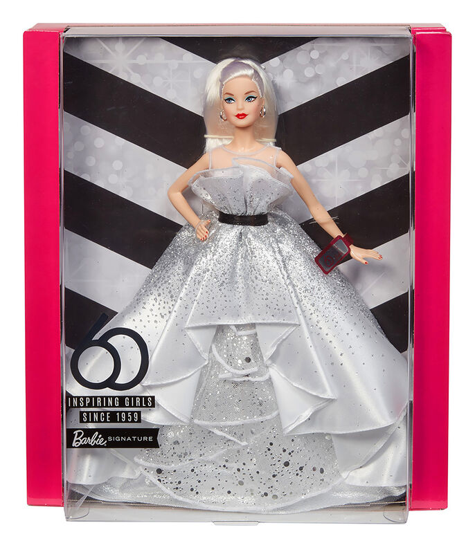 Barbie 60th Anniversary Doll, , large